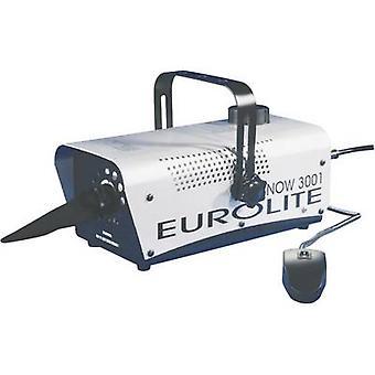 Sneeuw machine Eurolite Snow 3001 incl. Bevestigingssteun, incl. snoer afstandsbediening