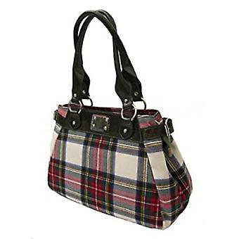 タータン ハンドバッグ M (スチュワート ドレス)