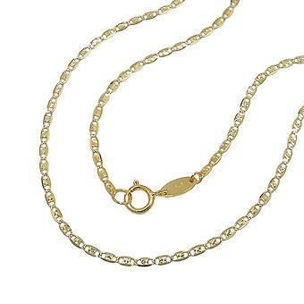 Collier fantaisie chaîne 45 cm - Collier - - or 9Kt-