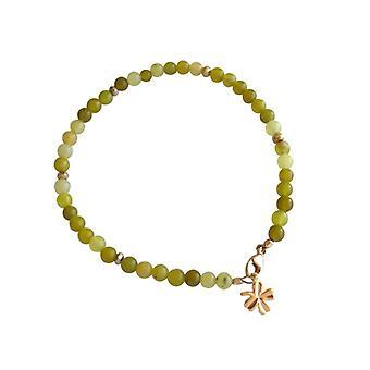 Jade gemstone armbånd jade armbånd forgyldt