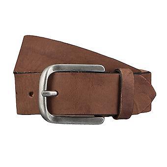Jeans de TOM TAILOR correa cuero cinturones hombre cinturones cinturón marrón 4347
