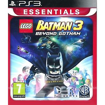 Lego Batman 3 Beyond Gotham - Essentials PS3 Game (English/Nordic Version)