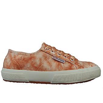 Superga Ladies Footwear 2750 Velvet Shiny Wrinkled