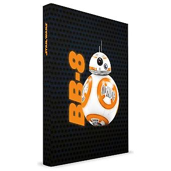 Star Wars Episode 7 ruled notebook light & sound FX BB-8 hardcover, DIN A5, 120 pages. With light and sound function.