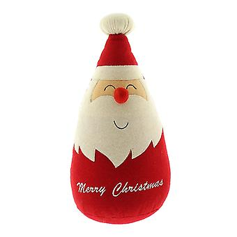 Festive Productions Santa father Christmas Xmas Felt Door Stopper Decoration