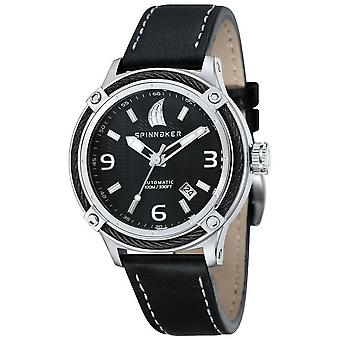 Spinnaker Mainsail Automatic Watch - Black