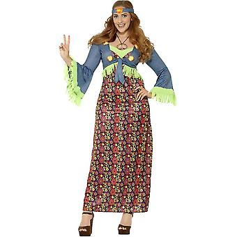 Smiffy's Curves Hippie Lady Costume