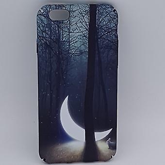 iPhone 6/6S Luna bolsa hundida en el bosque