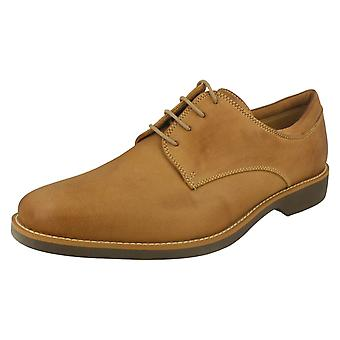 Mens anatomique & Co Smart Lace Up chaussures Delta - Cognac cuir de Mustang - UK taille 10 - UE taille 44 - US taille 10.5