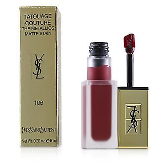 Yves Saint Laurent Tatouage Couture Metallics - # 106 vergoldet Fuchsia Rivalen - 6ml/0,2 oz