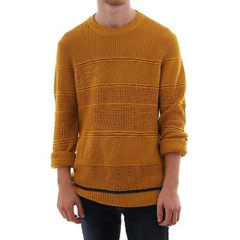 Ted Baker Mens Latar Ls Chunky Textured Crew Neck