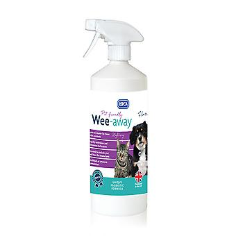 RSPCA Wee Away Probiotic Pet Friendly Stain & Odour Remover 1 Litro