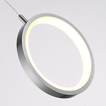 Anheng taklampe rundt baldakin hengende enkelt anheng LED lys nye