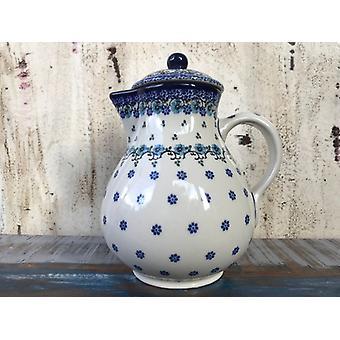 Jug with lid, vol. ^ 22 cm, Royal Blue, 1 l, BSN A-0681