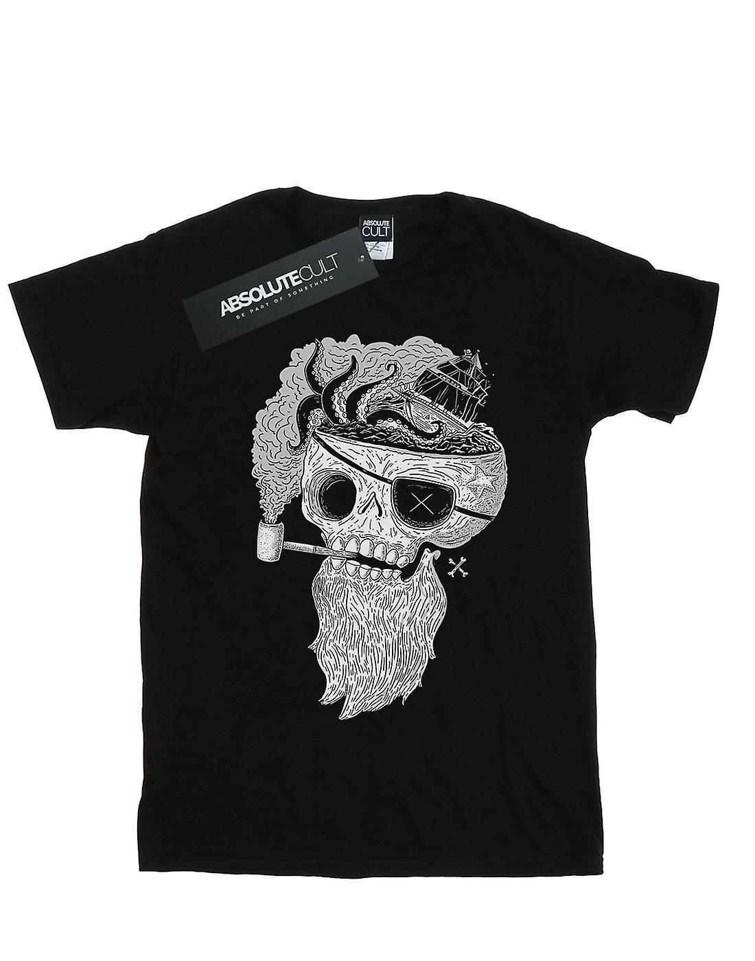 Pepe Rodriguez Women's Dead Beard Boyfriend Fit T-Shirt