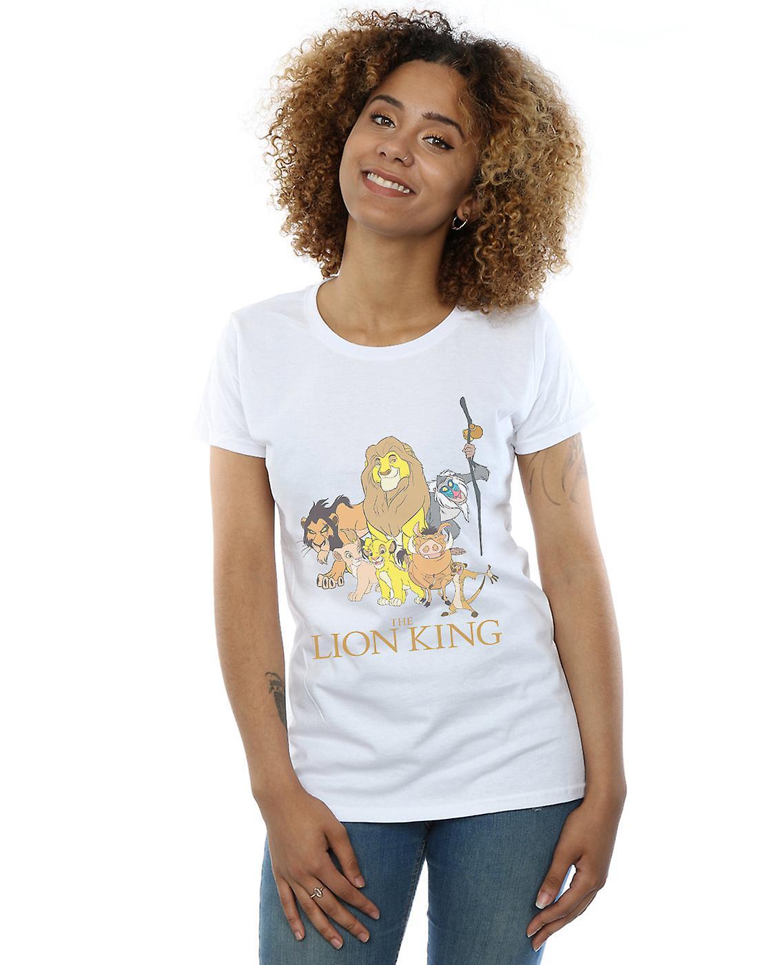 Disney Women's The Lion King Group T-Shirt