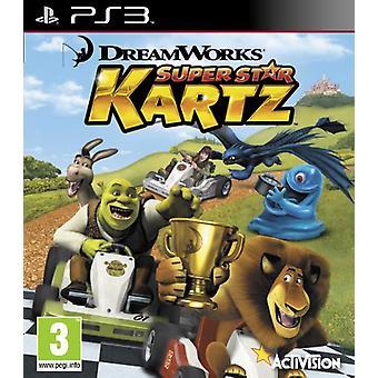 DreamWorks Super Star Kartz (PS3) - Nouveau