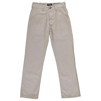 Kangol Kids bambini Juniors Chino kaki Pantaloni Casual di tutti i giorni Jeans pantaloni
