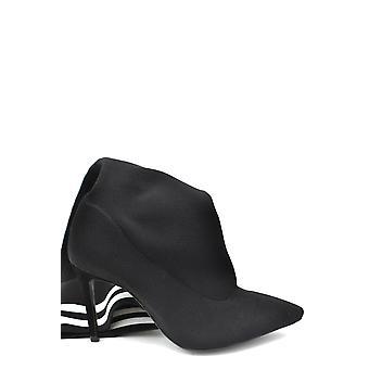 Schutz Ezbc080011 Dames's Black Fabric Boots