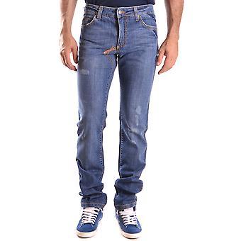Frankie Morello Ezbc167012 Men's Blue Denim Jeans