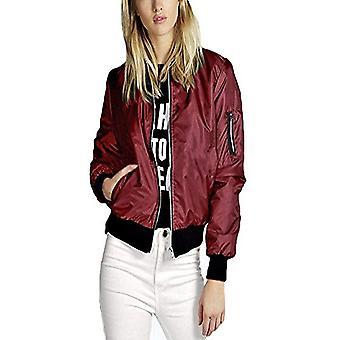 Women's vintage fashion bomber jacket