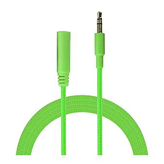 Incredi-cables 3.5 mm jack audio rallonge câble 1m-vert (INC35P-S1GN)