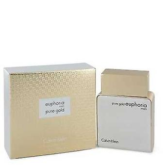 Euphoria Pure Gold By Calvin Klein Eau De Parfum Spray 3.4 Oz (men) V728-544208