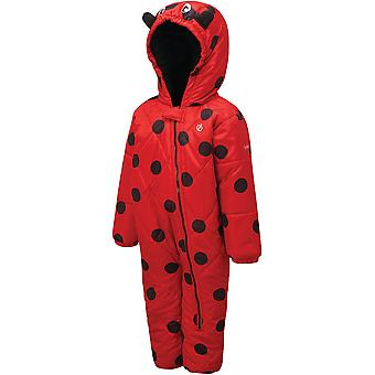 Dare 2b Girls Bambino Water Repellent Hooded Snowsuit