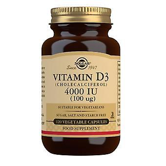 Solgar vitamín D3 100ug (4000iu) Vegicaps 120 (52908)