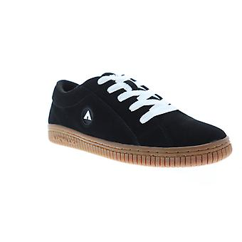Airwalk The One Gum  Mens Black Low Top Athletic Surf Skate Shoes