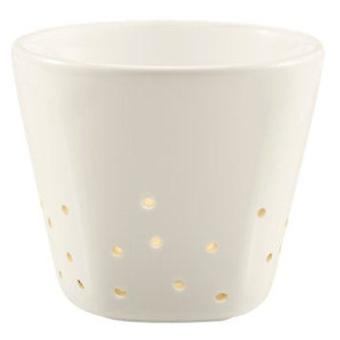 Iittala IXI - white candle holder 70 mm