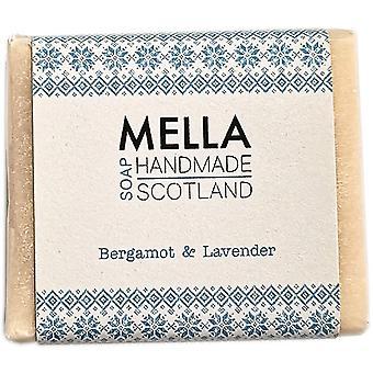 Bergamot & lavendel zeep Bar-Mella Handgemaakte zepen Shetland