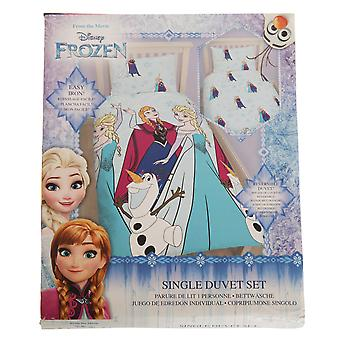 Disney Frozen Childrens Girls Lights Reversible Duvet Cover Bedding Set