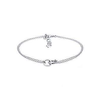 Elli Bracelet in Chain by Silver Woman