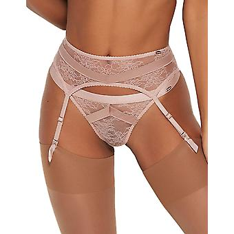 Gossard 16202 Donne's VIP Chicago Wood Rose Pink Suspender Belt