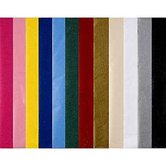 Assorted Colour Sheets of Best Quality Tissue Paper   Gift Wrap Supplies
