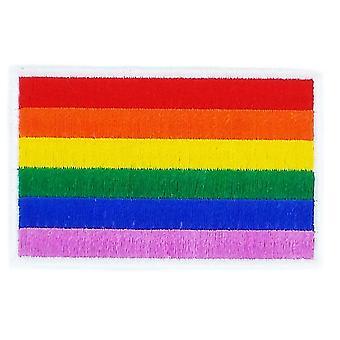 Patch Patch Patch Flaga Rainbow Gay Peace Thermocollant Blason