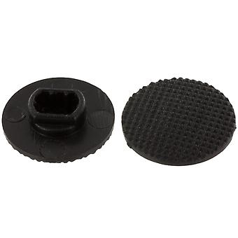 Analog joystick controller button cap for sony psp 1000 series - black