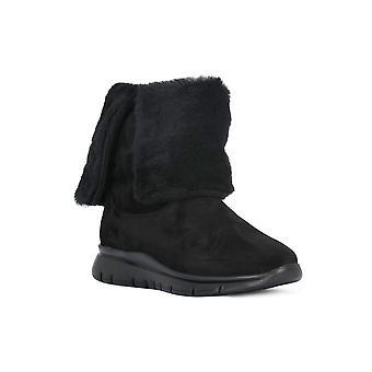 Frau waxy black boots