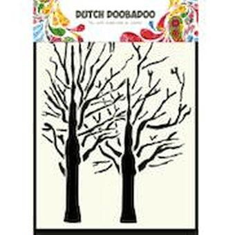 Dutch Doobadoo A6 Mask Art Stencil - Trees #470154003