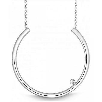 QUINN - Necklace - Women -Silver 925 - Diamond - Wess. (H) - piqué - 271459