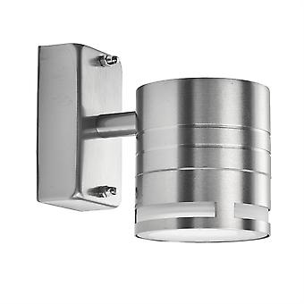 Searchlight Led al aire libre 1 luz al aire libre luz de pared de acero inoxidable IP44 2018-1-LED