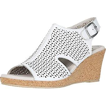 Earth Women's Radiant White Leather 10 B US