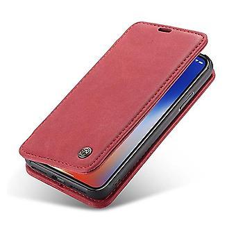 Case For Iphone X Folio Red