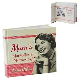 Retro Mum's Marvellous Moments Novelty Photo Album