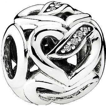 Charm Pandora Amour 792046CZ - Charm Rubans de l'Amour