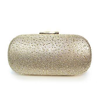 Lunar Sense Oval Gemstone Clutch Bag