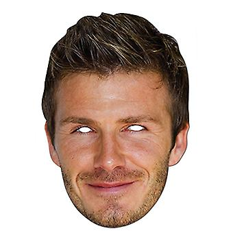David Beckham Celebrity Card Party Fancy Dress Mask