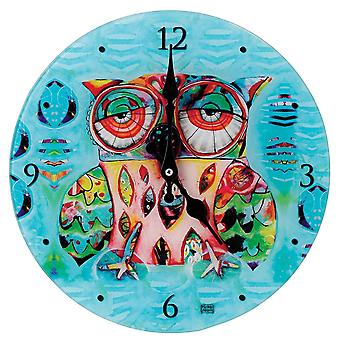 Allen Designs Owl Wall Clock