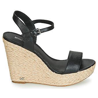 Michael Michael Kors naisten Jill nahka avoin toe rento Platform sandaalit